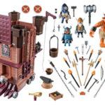 9340-playmobil-knights-dvergenes-mobile-festning-innhold